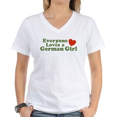 Everyone loves a German Girl Shirt