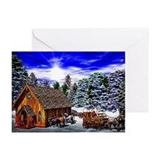 Christmas Then Greeting Cards