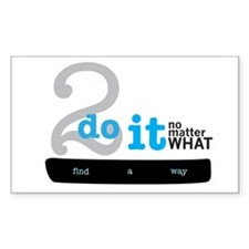 Find a Way 2do Decal