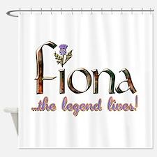 FionaLegend.png Shower Curtain