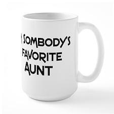 Favorite Aunt Mugs