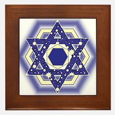 Layla Layla Star Framed Tile