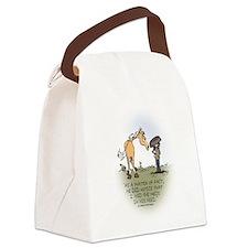 Horse Health - Hidden Meds Canvas Lunch Bag