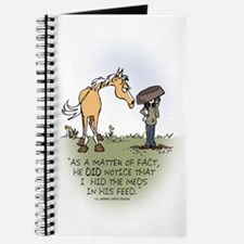 Horse Health - Hidden Meds Journal