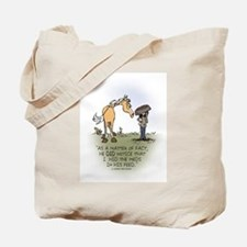 Horse Health - Hidden Meds Tote Bag
