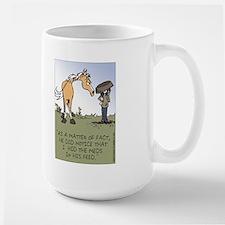 Horse Health - Hidden Meds Large Mug