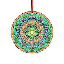 Awakening Source Mandala Round Ornament
