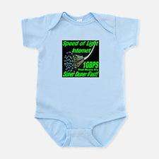 Speed of Light Internet Infant Bodysuit