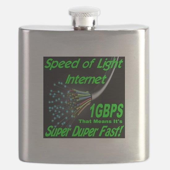 Speed of Light Internet Flask