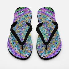 Inner Peace Mandala Flip Flops