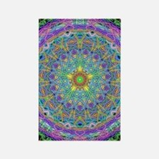 Inner Peace Mandala Rectangle Magnet