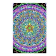 Inner Peace Mandala Postcards (Package of 8)