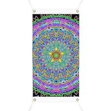 Inner Peace Mandala Banner