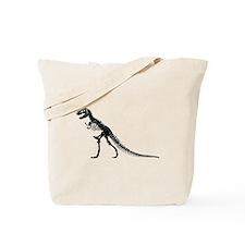 T-Rex Skeleton Tote Bag