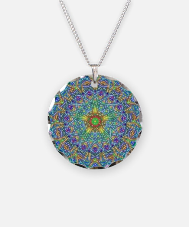 Inner Peace Mandala Necklace