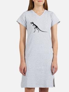 T-Rex Skeleton Women's Nightshirt