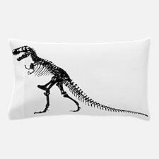 T-Rex Skeleton Pillow Case