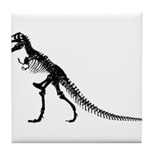 T-Rex Skeleton Tile Coaster