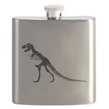 T-Rex Skeleton Flask