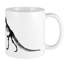 T-Rex Skeleton Mugs