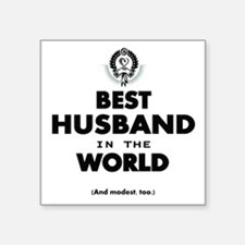 The Best in the World Best Husband Sticker