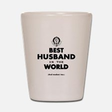 The Best in the World Best Husband Shot Glass