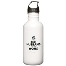 The Best in the World Best Husband Water Bottle
