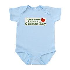 Everyone Loves a German Boy Infant Bodysuit