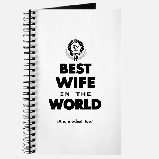 The Best in the World Best Wife Journal