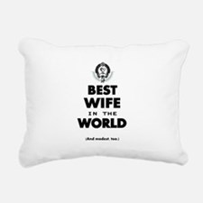 The Best in the World Best Wife Rectangular Canvas