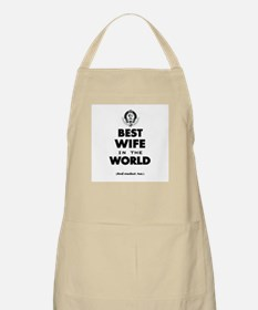 The Best in the World Best Wife Apron