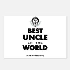 The Best in the World Best Uncle Postcards (Packag