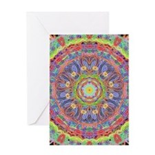 Heart Source Mandala Greeting Cards