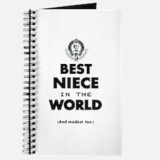 The Best in the World Best Niece Journal