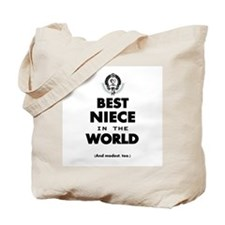 The Best in the World Best Niece Tote Bag