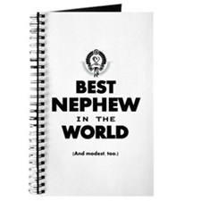 The Best in the World Best Nephew Journal