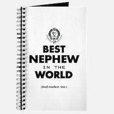 The Best in the World Best Nephew Journal
