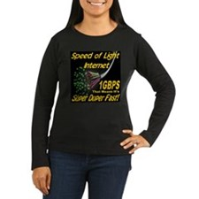 Speed of Light Internet Long Sleeve T-Shirt