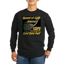 Speed of Light Internet Long Sleeve T-Shirt