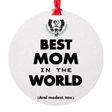 Best 2 Mom copy Ornament