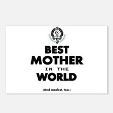 Best 2 Mother copy Postcards (Package of 8)