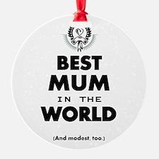 Best 2 Mum copy Ornament