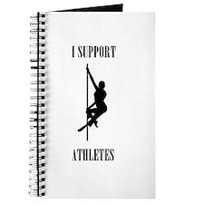 I Support Athletes Black Journal