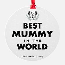 Best 2 Mummy copy Ornament