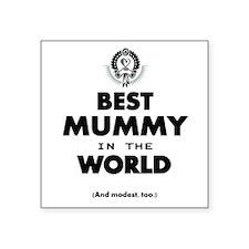 Best 2 Mummy copy Sticker