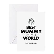 Best 2 Mummy copy Greeting Cards