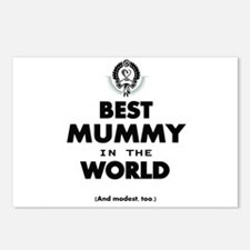Best 2 Mummy copy Postcards (Package of 8)