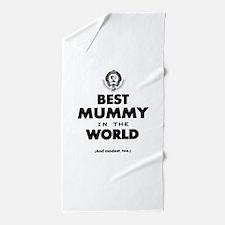 Best 2 Mummy copy Beach Towel