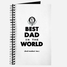 The Best in the World Best Dad Journal
