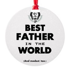 The Best in the World Best Father Ornament
